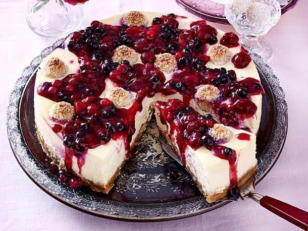 Unser Lieblingsrezept für Raffaelo Berry Cheesecake und mehr als 55.000 weit ...   - Rezepte -