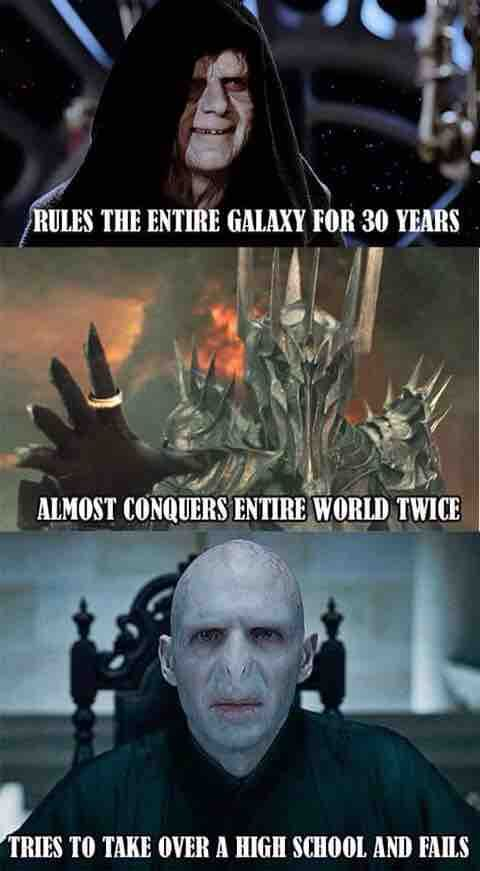 Photo of Step Up Your Game, Voldermort!