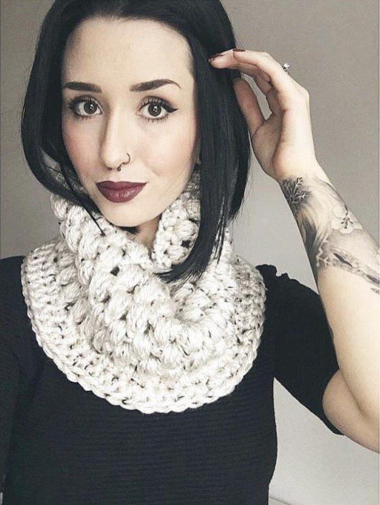 Puff Stitch Cowl   Crochet projects   Pinterest