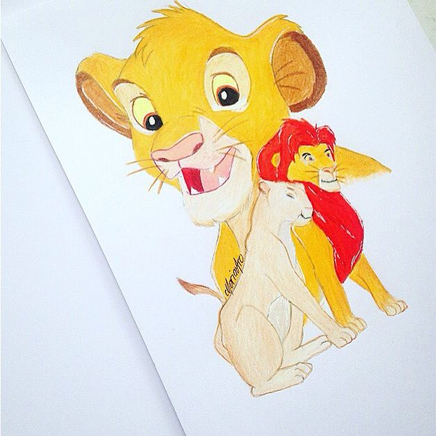 #drawing #thelionking