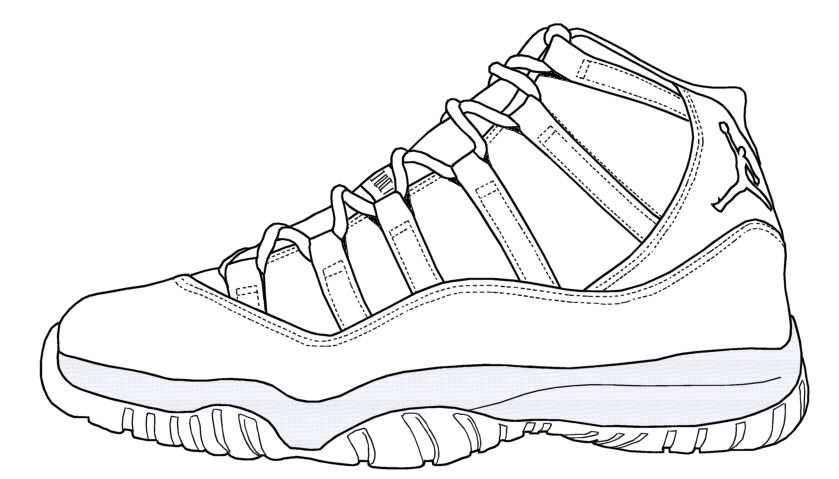 jordan shoes coloring pages coloring home.html