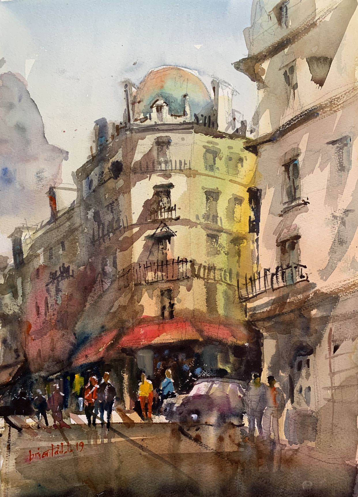 Watercolour By Brian Tai Art In 2019 Watercolor Art