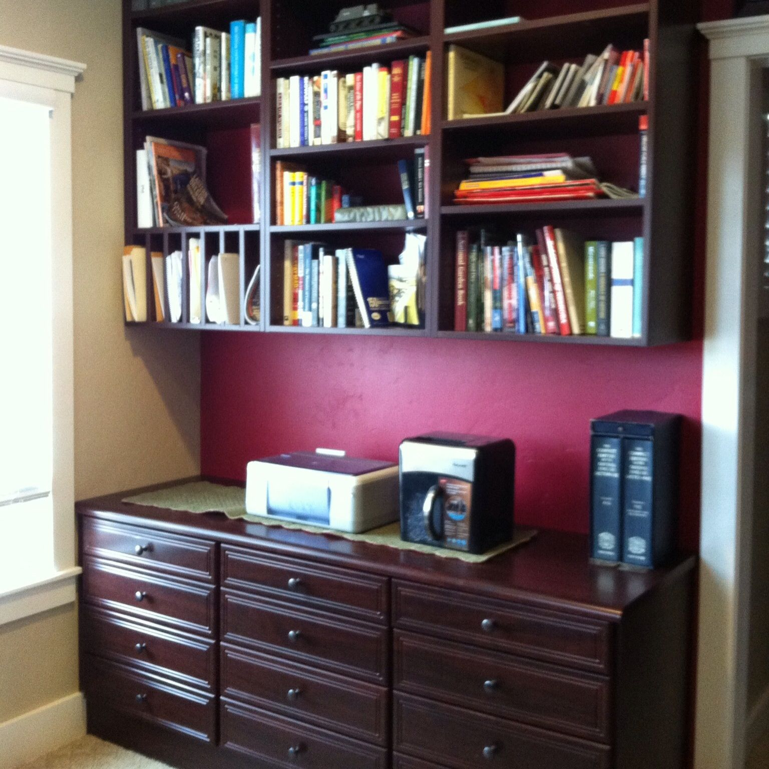 Home office for the book collector!