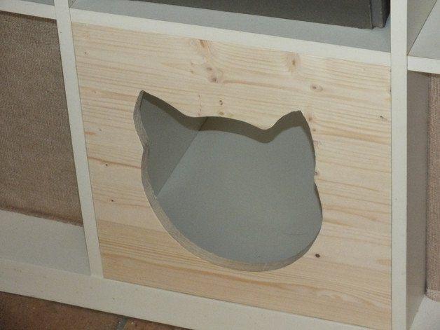 katzenhaus f r regal katzenh hle katzenbett katzen caf pinterest katzen haus katzen bett. Black Bedroom Furniture Sets. Home Design Ideas