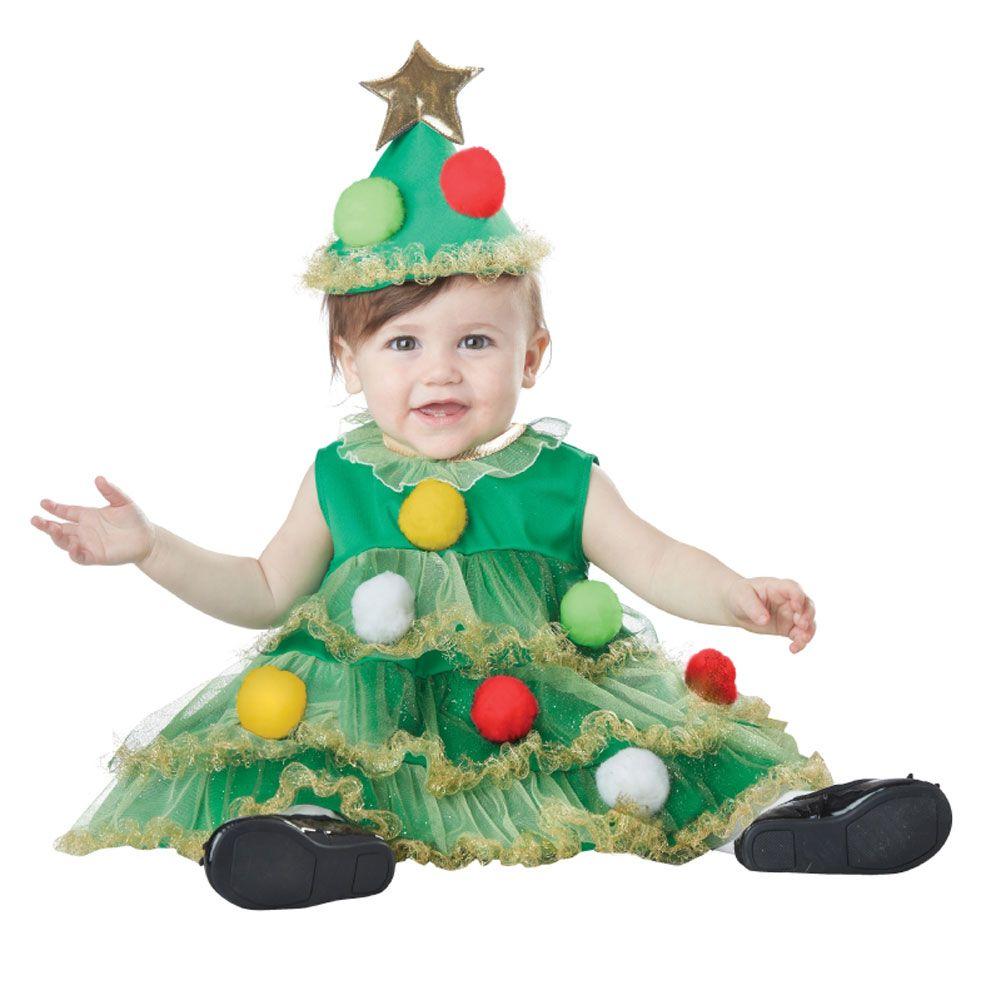 885974 Kids Little Christmas Tree Costume Large Jpg 500 1249 Christmas Tree Costume Tree Costume Toddler Christmas Tree