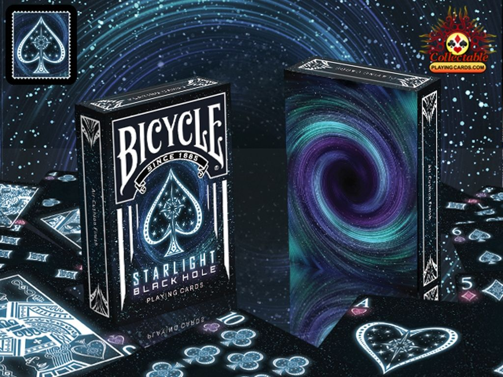 Bicycle Starlight Black Hole Bicycle Playing Cards Magic Cards Cool Playing Cards