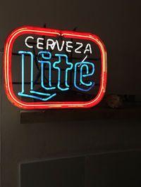 letgo - cerveza lite neon sign in Bend, OR