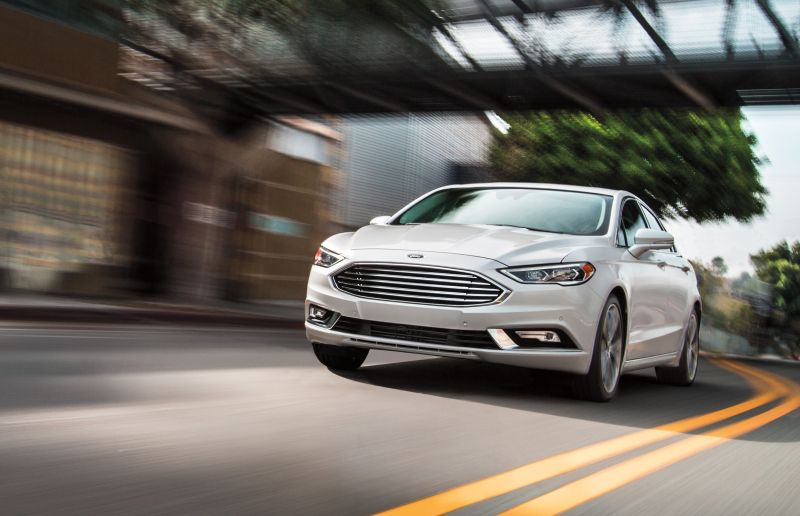 Ford May Be Sticking The Fusion Name On A Sport Wagon With