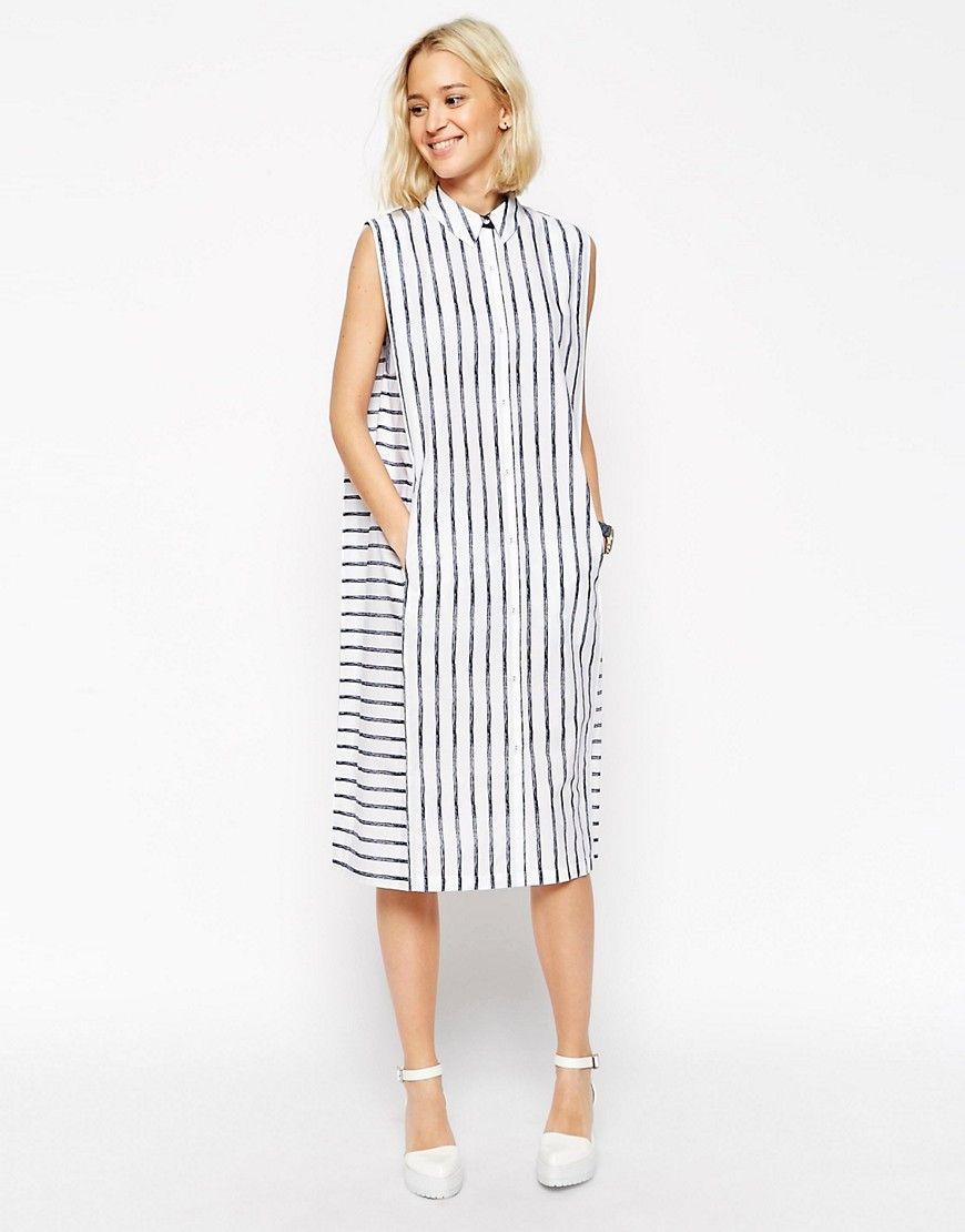 Платье рубашка без рукавов сшить