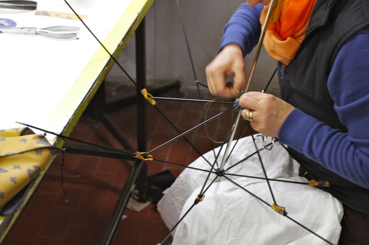 """Francesco Maglia Umbrella hand-made in italy"""