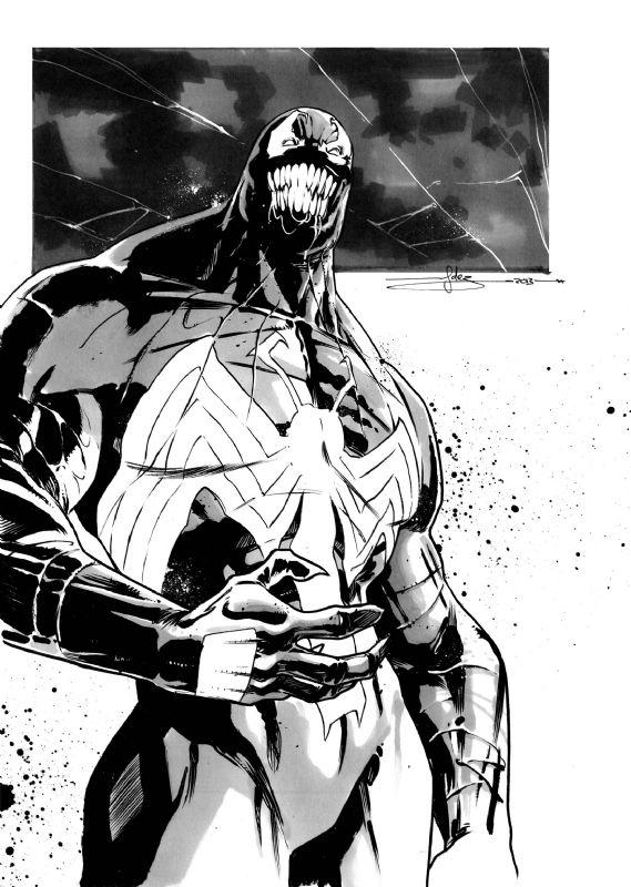 Venom by Javi Fernandez | Venom y carnage | Pinterest | Cómics ...