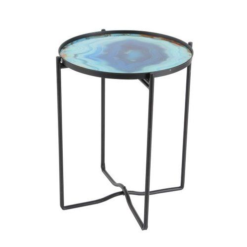 Found It At Wayfair Metal Glass End Table With Images Glass
