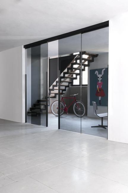 Porte design Lyon - Portes Design, pose porte du0027intérieur design - porte coulissantes sur mesure