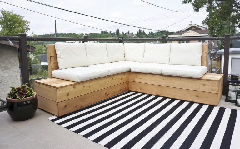 Diy Outdoor Sectional Diy Outdoor Furniture Outdoor Diy Deck