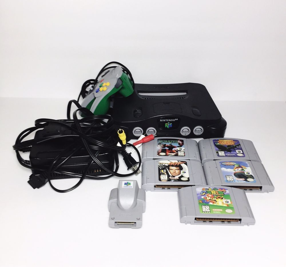 Details about Nintendo 64 Console Controller Super Mario 007