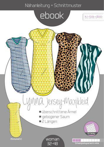 Photo of Ebook Langhemd Kleid Lynna Frauengröße. 32-48 – Muster und Anweisungen als P …