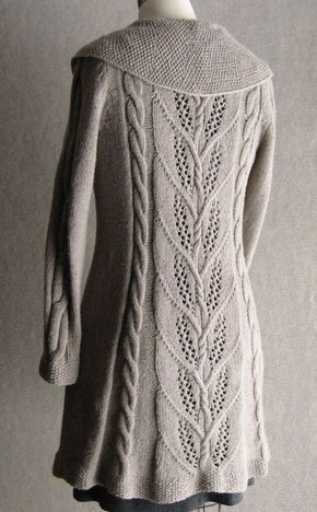 Milkweed Long Jacket Knitting Patterns Pinterest Cable Knit