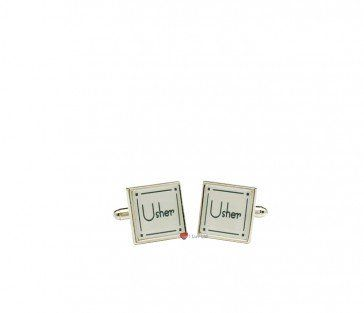 A nice pair of silver plated cufflinks perfect for an usher £16.66 http://goo.gl/xAX8Aw