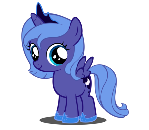 Princess Luna As A Filly My Little Pony Friendship By Pengieinternational My Little Pony Drawing My Little Pony Coloring My Little Pony Princess