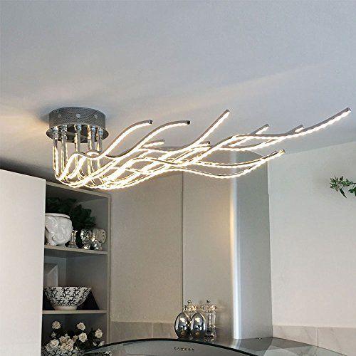 LICHT-TREND Sculli   LED-Deckenleuchte   2800 Lumen   150 cm - deckenlampen für küchen