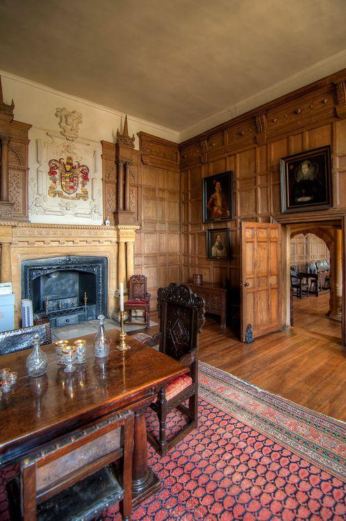 English Tudor Interior Design Ideas: Dining Room, Montacute House, Somerset