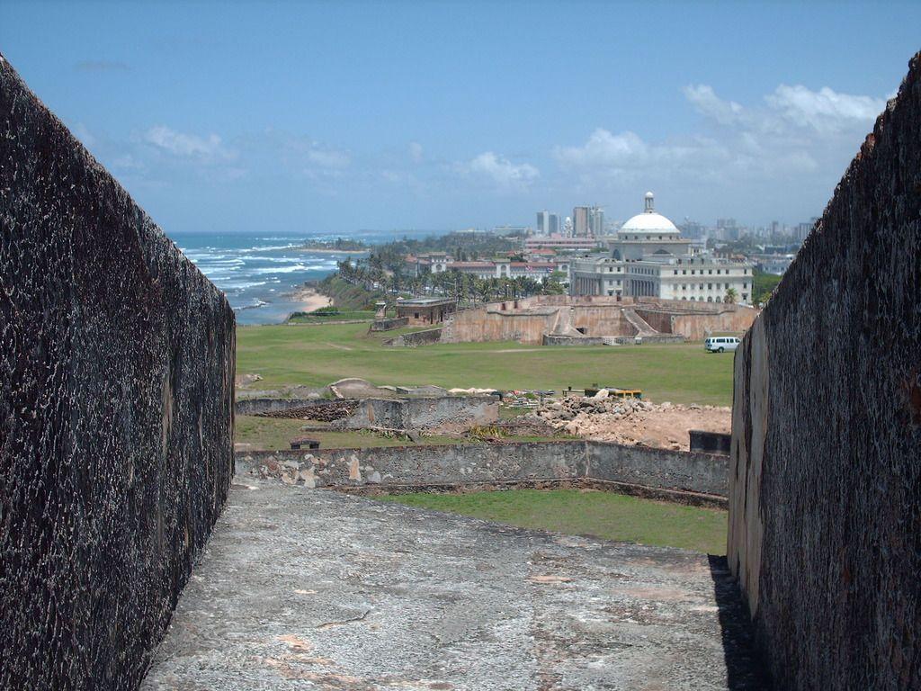 puerto rican san juan scenery   Puerto Rico Fort San Cristobal San Juan Wallpaper