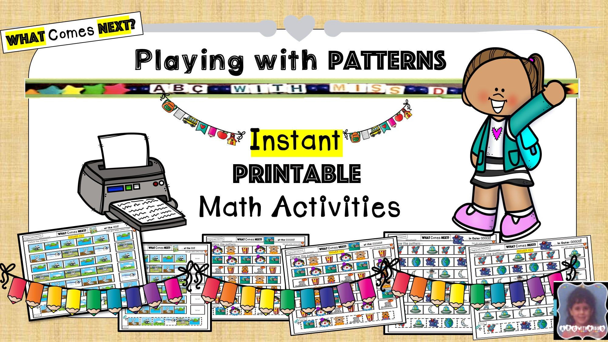 Print And Play Math Worksheets Learning And School