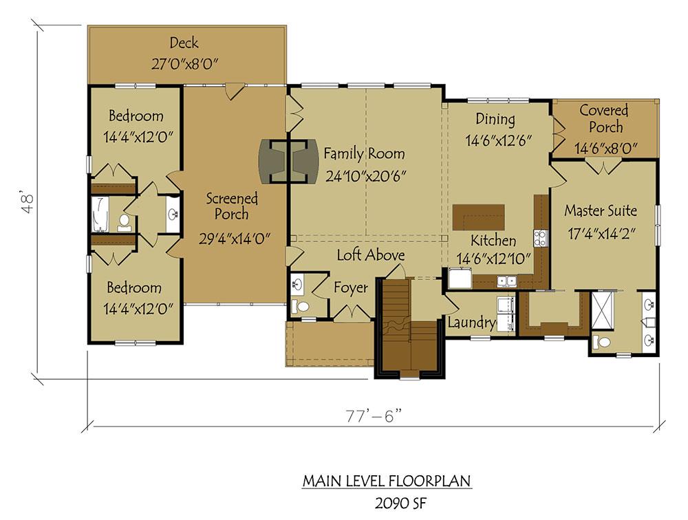 Dogtrot House Plan breathtaking Dog Trot style floor plan