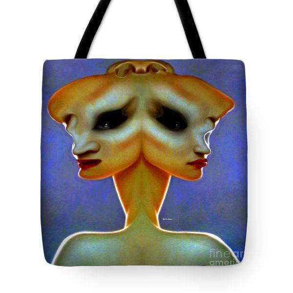Alien Tote Bag by Rafael Salazar