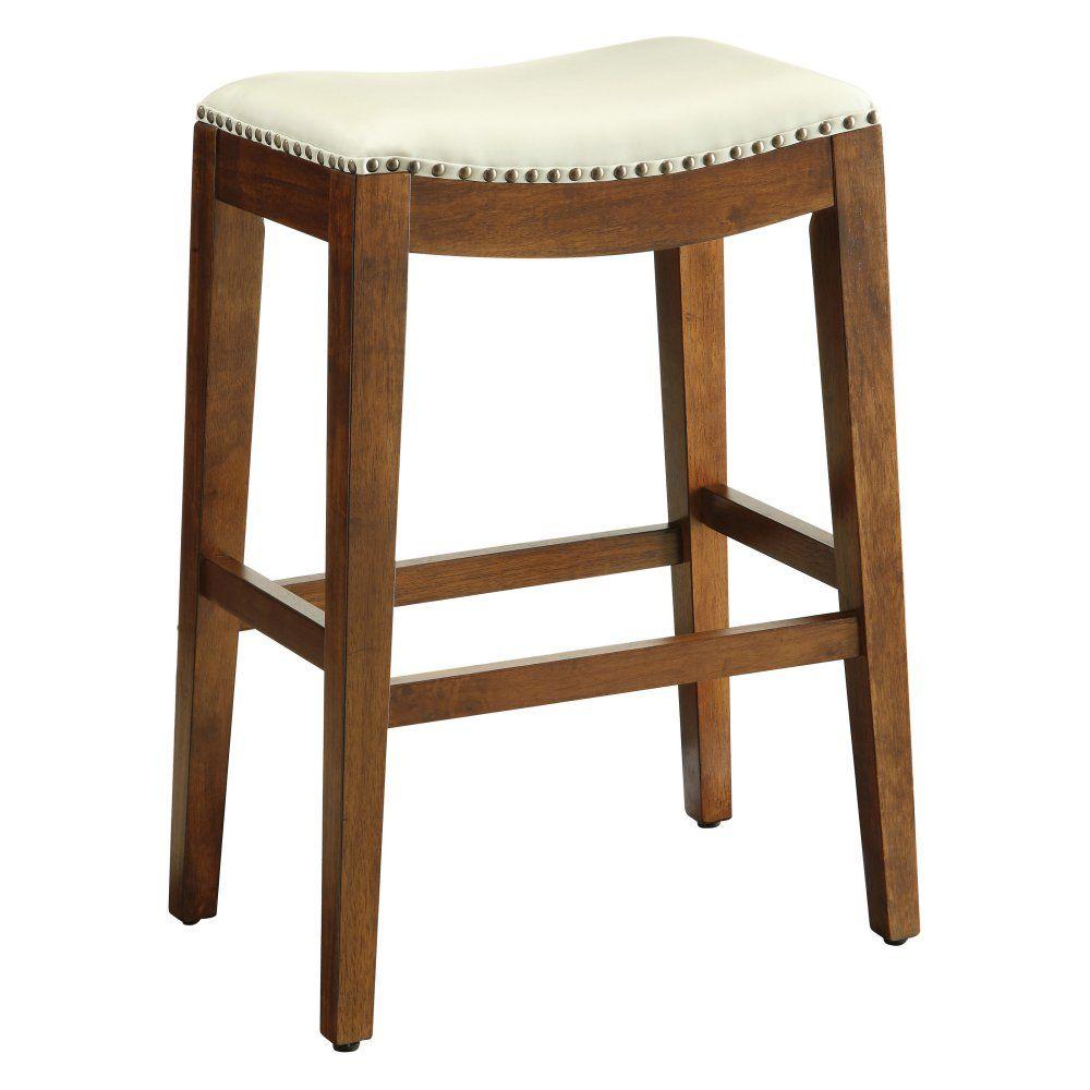 OSP Designs Metro 29 in. Saddle Bar Stool Bar stools