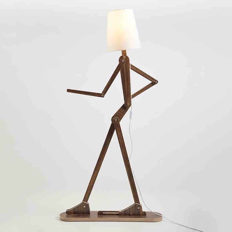 Classic Chinese Wooden Floor Lamp Modern Minimalist Wooden Floor Bedroom Bedside Floor Standing Lamp Adjustabl Mit Bildern Lampen Moderne Stehlampen Schlafzimmer Holzboden
