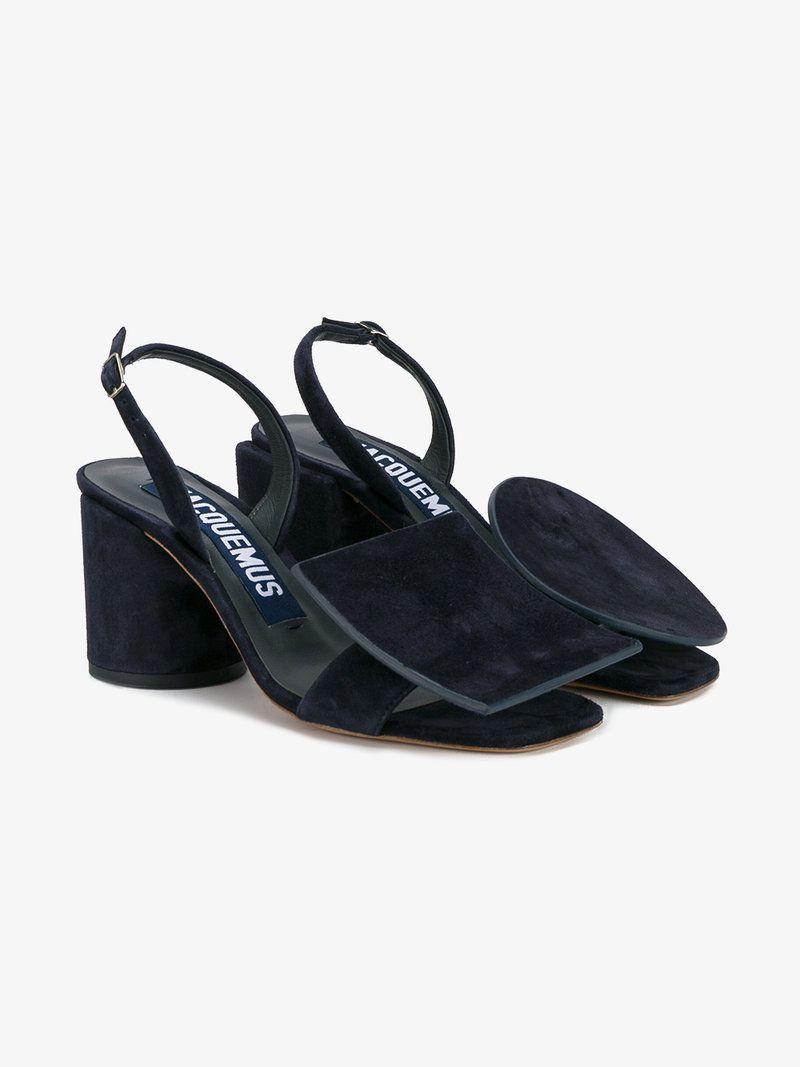 2454b5e6a75 JACQUEMUS SLINGBACK SUEDE SANDALS.  jacquemus  shoes  pumps ...