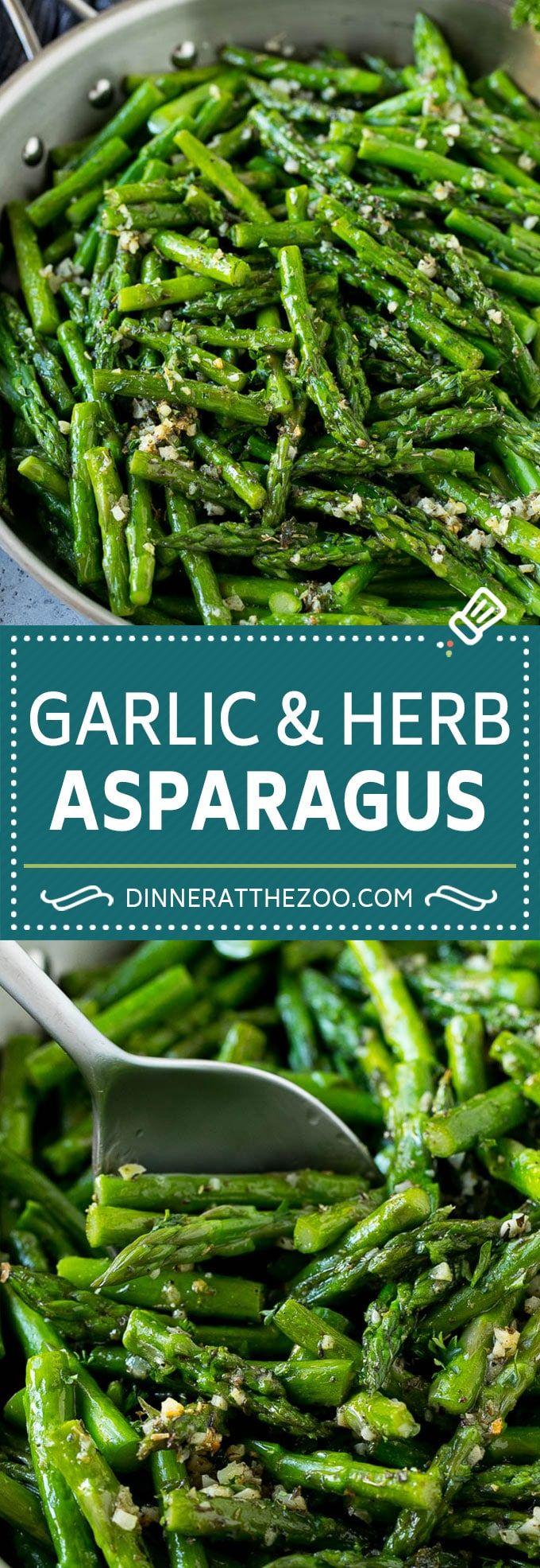 Sauteed Asparagus #dinnersidedishes
