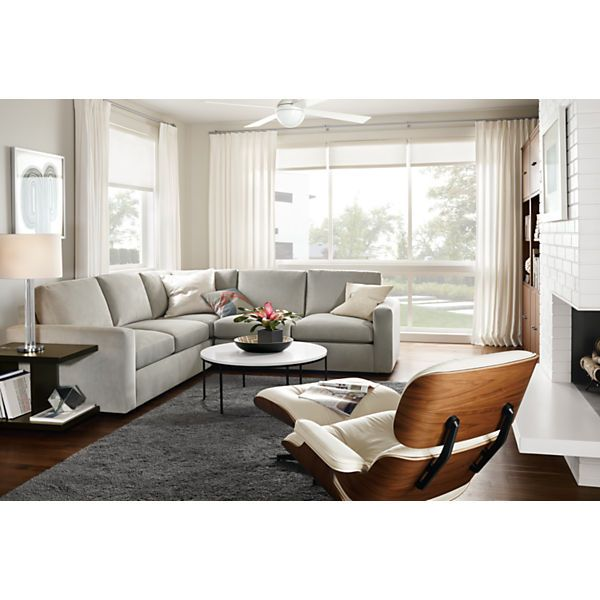 Taft Sectionals - Sectionals - Living - Room u0026 Board  sc 1 st  Pinterest : end tables for sectionals - Sectionals, Sofas & Couches