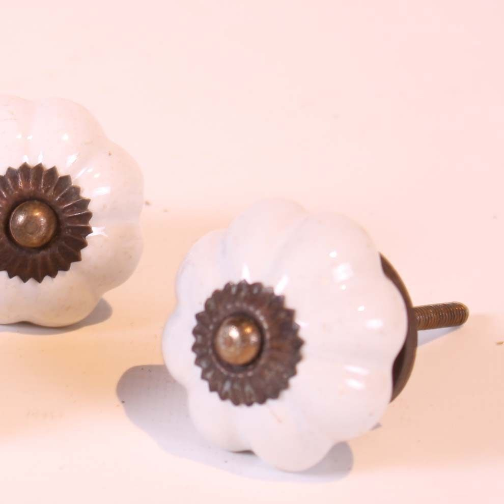 Antique door knobs on new doors - Antique Porcelain Door Knob New