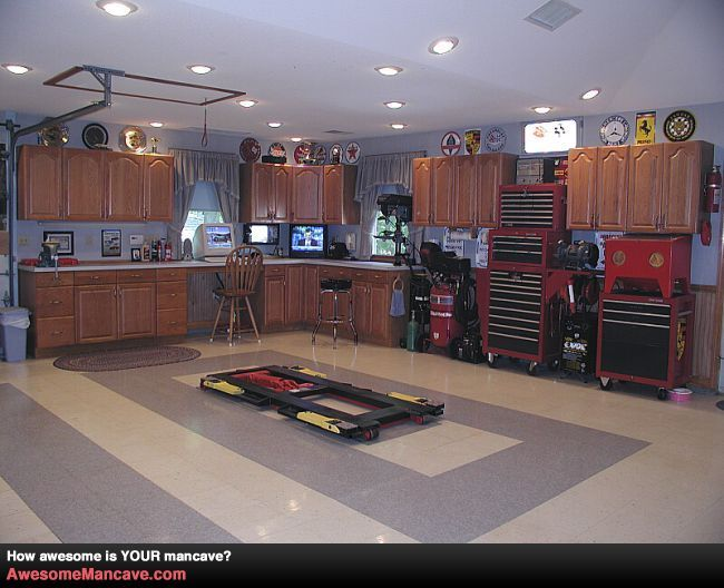 Amazing Mancave In Garage Man Cave Decor With Class