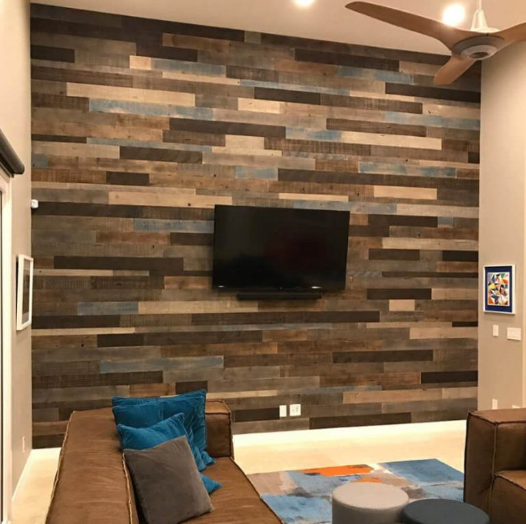 Brown Rock Fireplace Accent Wall Color: 35 Awesome Accent Wall Ideas To Upgrade Your Space