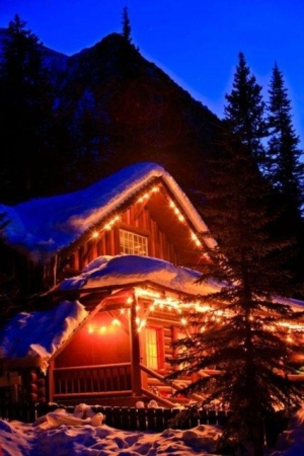 Lake Louise Snow Cabin Luxury Log Cabins Cabin