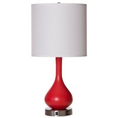 Hampton Inn FYI Table Lamp with USB Charging Station Port Outlet TL11115