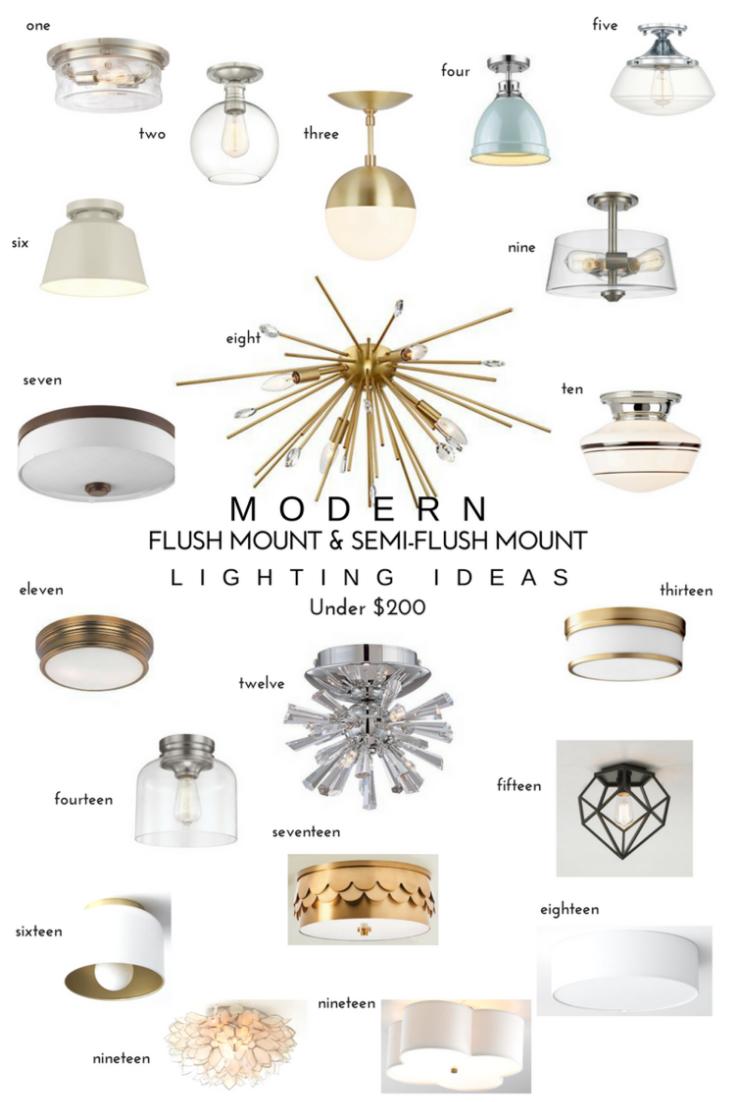 20 Modern Flush Mount Semi Flush Mount Lighting Ideas Katrina