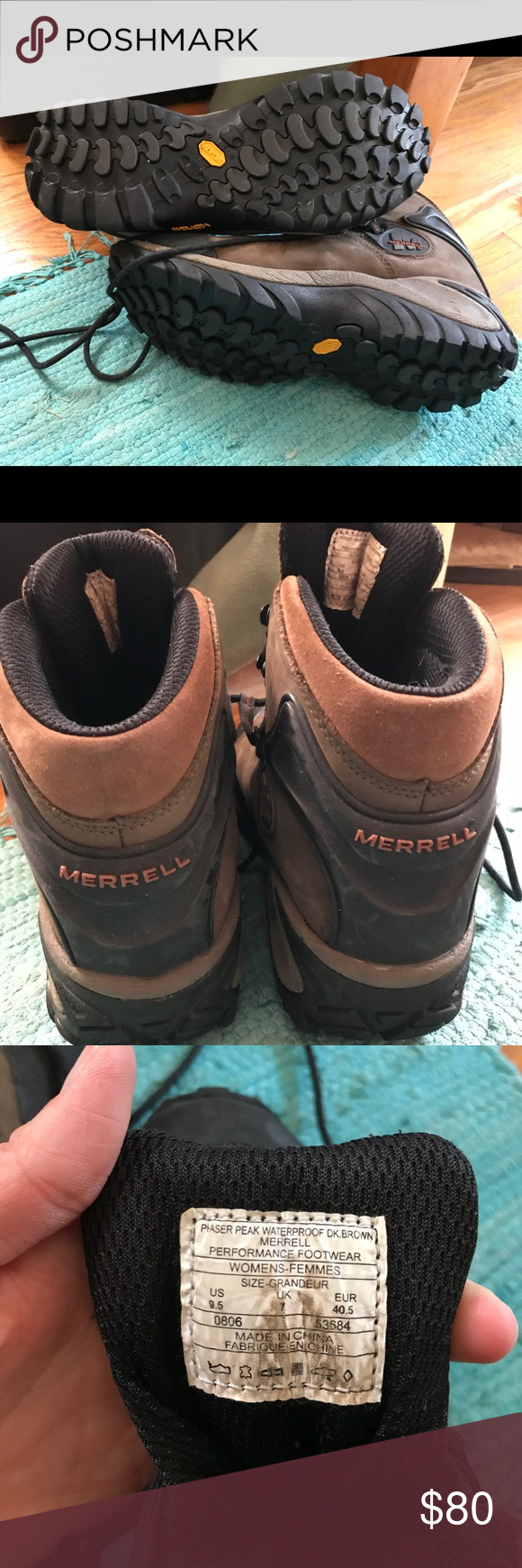 f343809947f Merrell Phaser Peak hiking boots Women's size 9.5 Women's waterproof ...