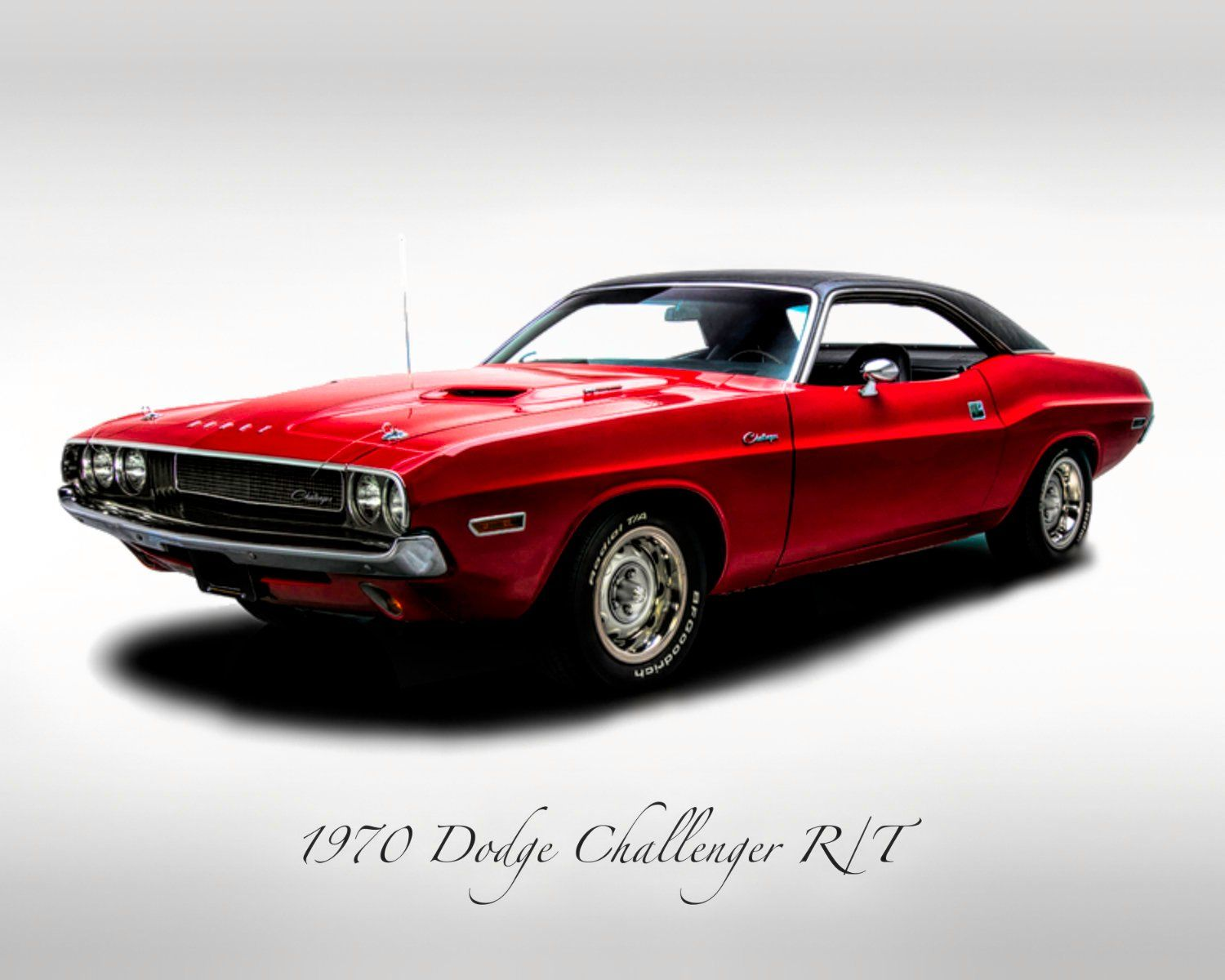 Classic Cars – 1970 Dodge Charge R/T – Print