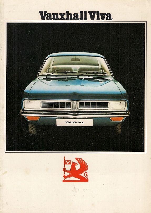 Vauxhall Viva HC Saloon 1973-74 UK Market Sales Brochure Standard - sales brochure