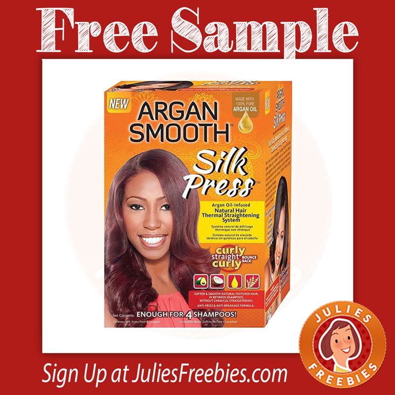 Free Argan Smooth Silk Press Kit