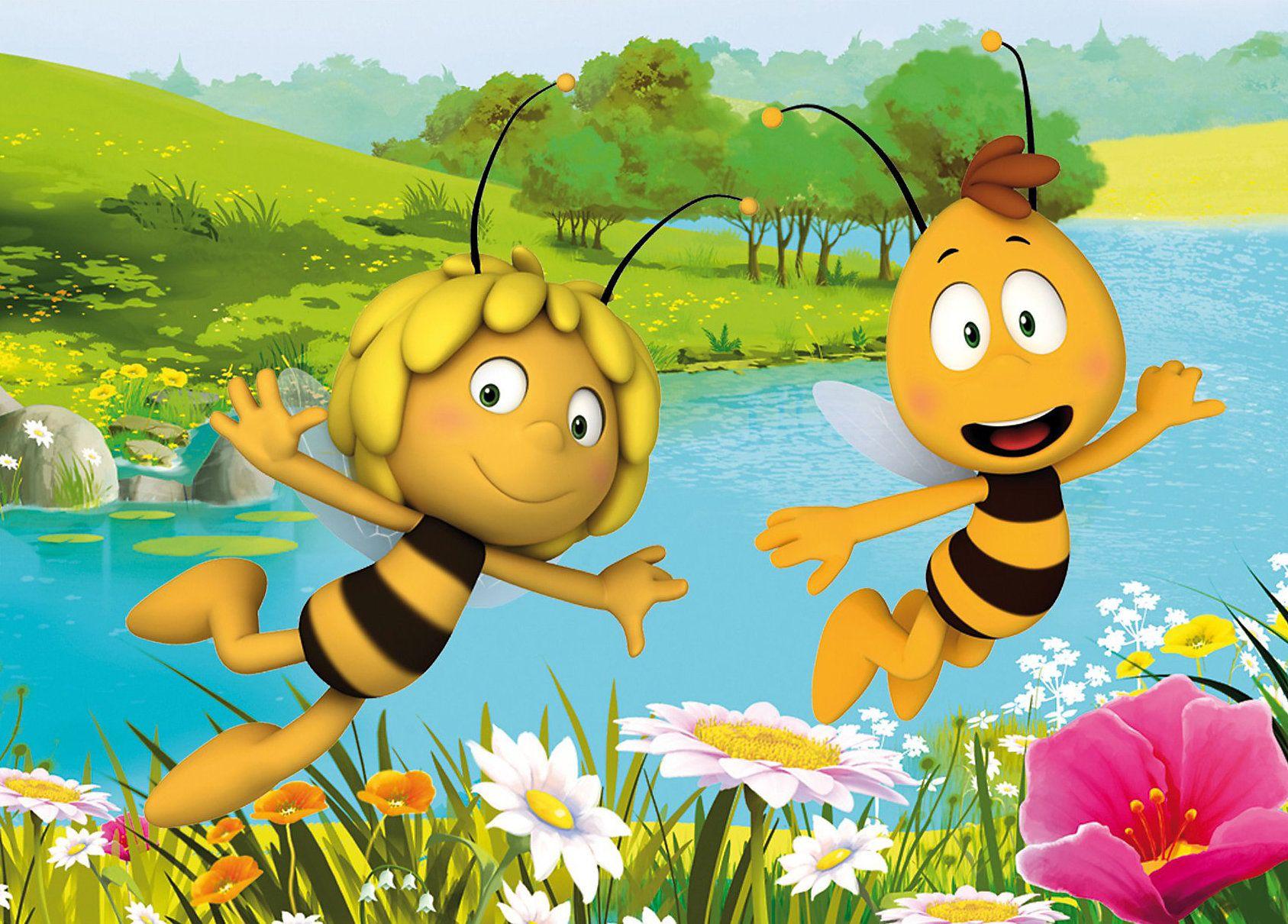 Прикольные картинки с пчелкой майей, открыток марта