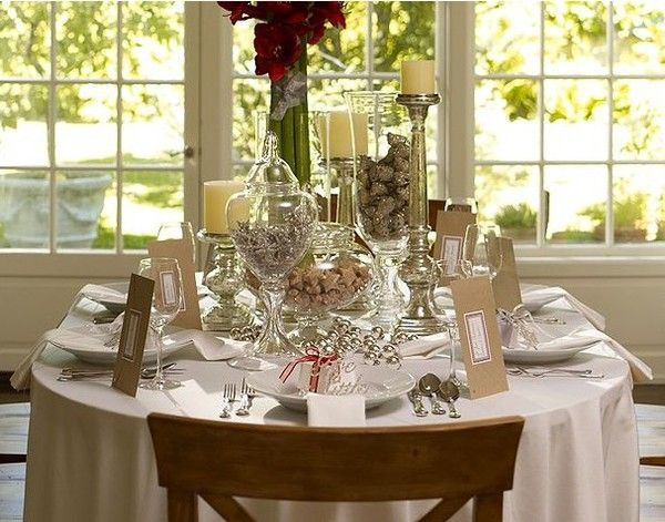 Top 100 Christmas Table Decorations Table decorations, Christmas