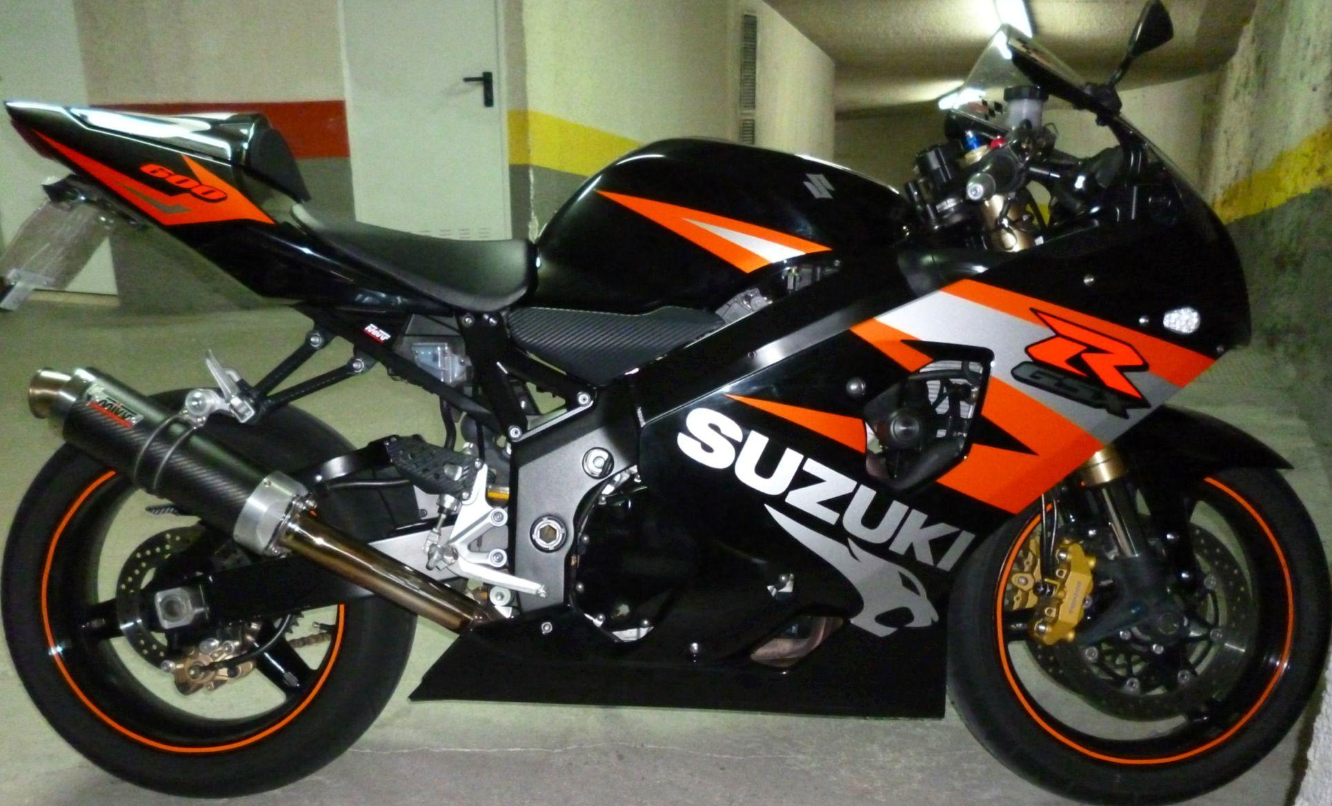 Suzuki GSXR 600 K4 | Biker chic | Gsxr 600, Sport bikes