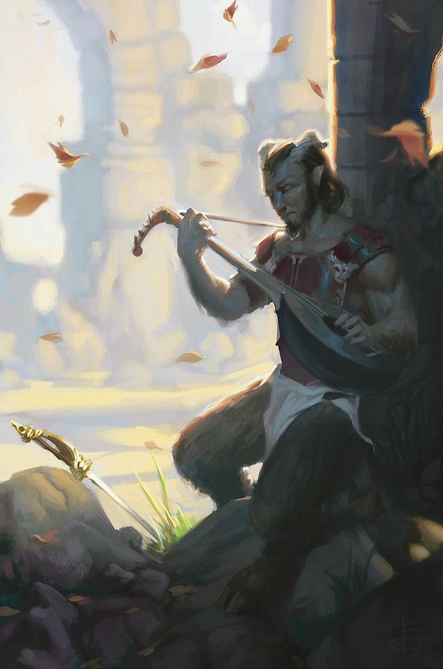 Faun bard mythology