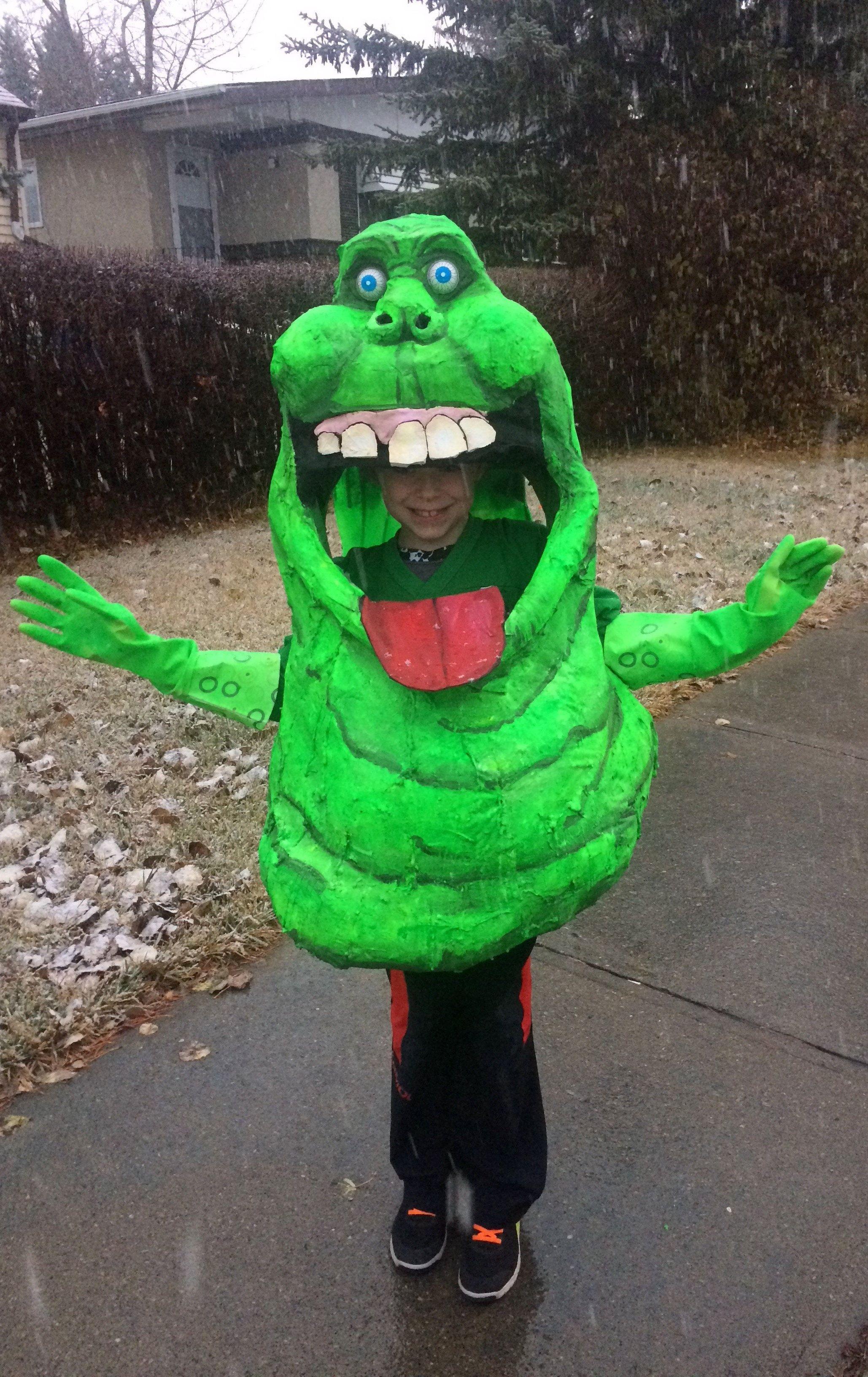 Slimer Ghostbusters Costume | Basteln