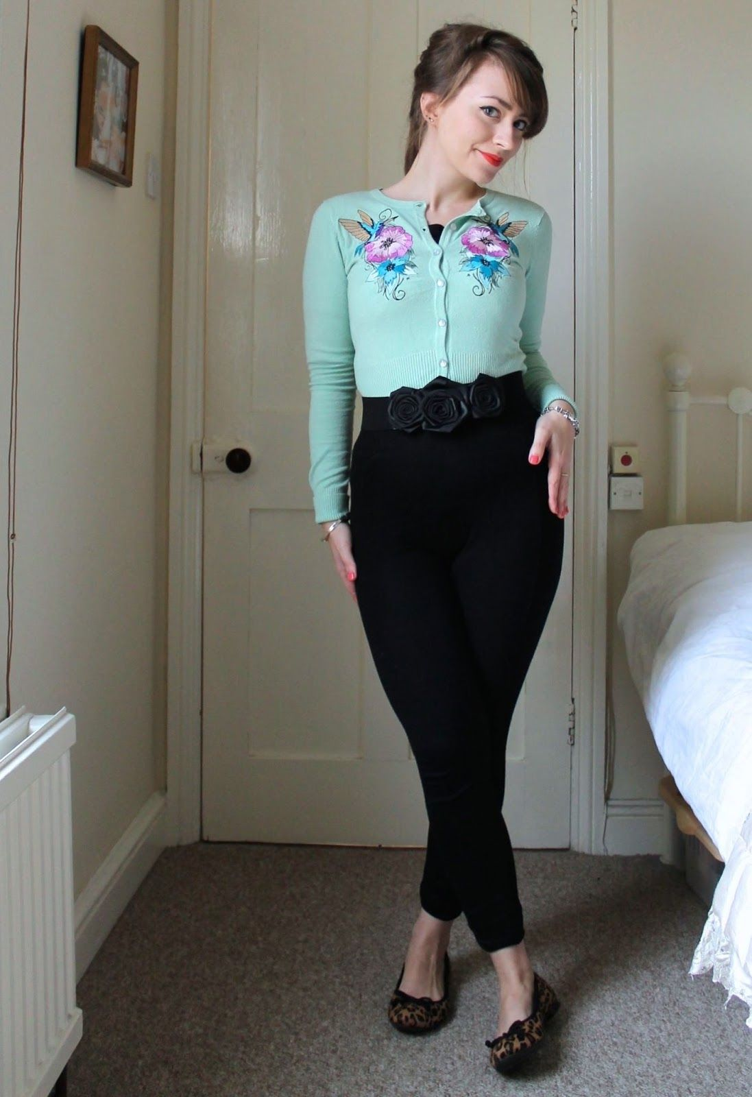 vintage style 50s casual modern